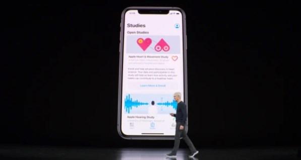 苹果推出健康研究应用,重点关注心脏与女性健康