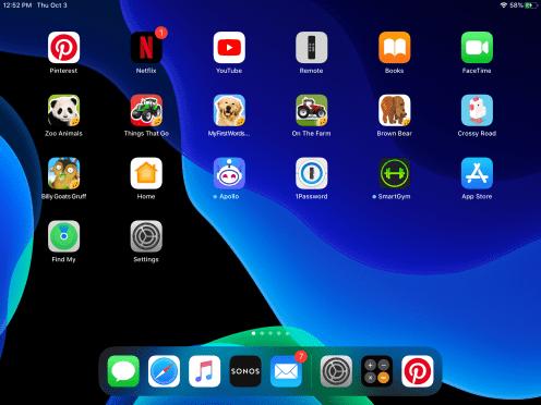 iPadOS 教程:如何使 iPad 应用程序图标和文本变得更大?