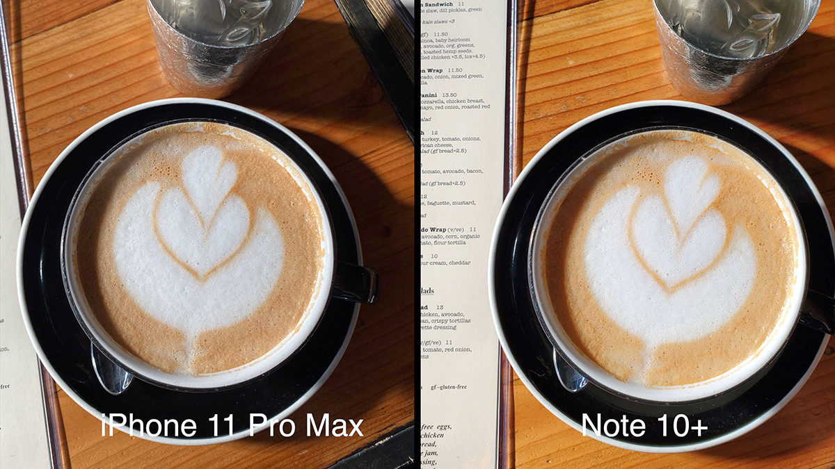 外媒:iPhone 11 Pro Max 与 Galaxy Note 10+ 拍照对比