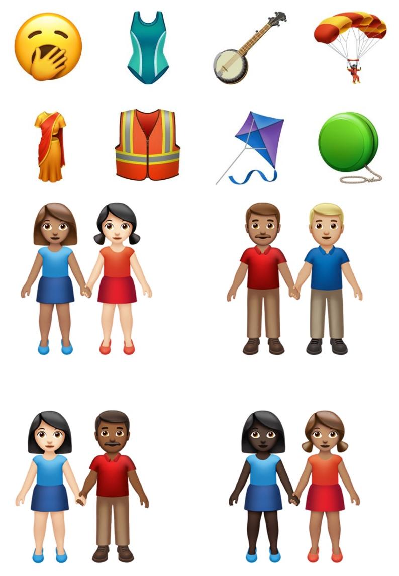 iOS 13.2新增了哪些Emoji 表情符号?可爱吗?