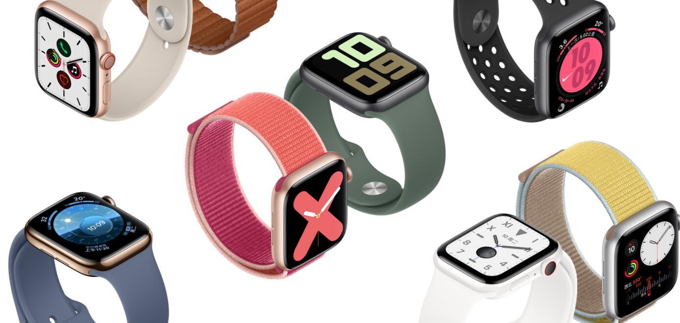 智能手表市场增长惊人,苹果占全球一半份额