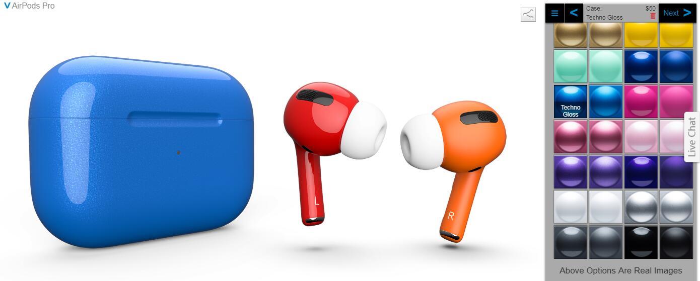ColorWare 为苹果 AirPods Pro 推出颜色定制服务