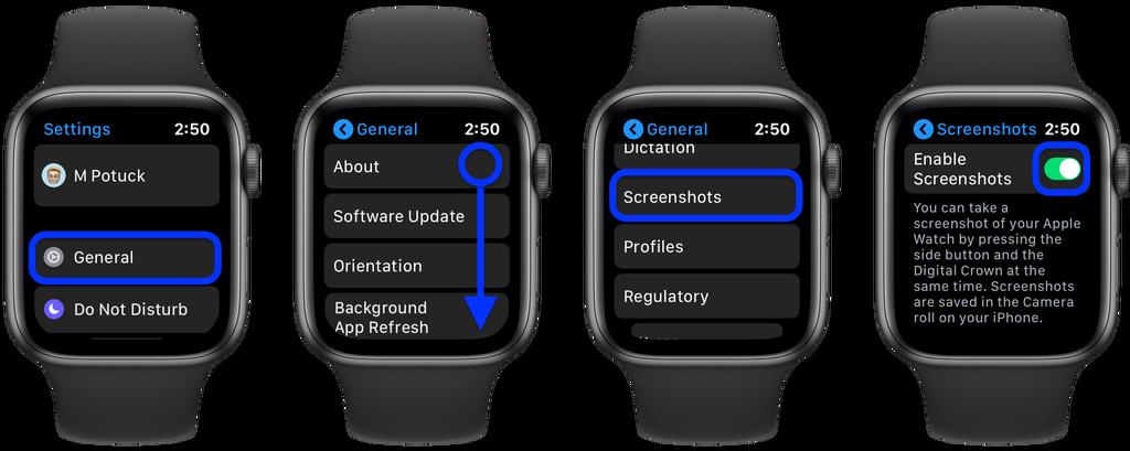 如何在 Apple Watch 上禁用屏幕截图?