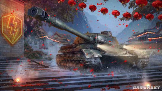 赤色重骑登陆《坦克世界闪击战》春节重磅更新