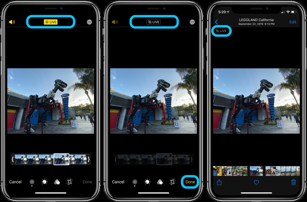 如何关闭 iPhone 现有照片的「实况照片」显示?