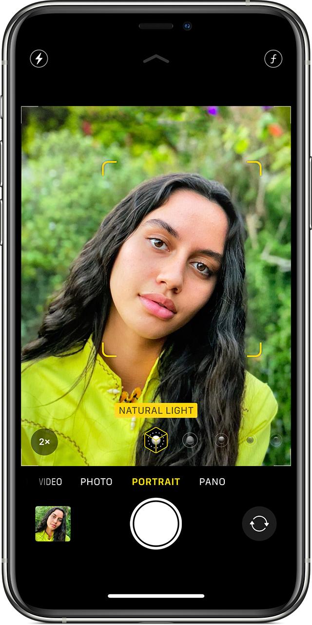 iPhone 如何在人像模式下拍摄照片?