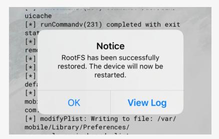 iOS 13系统所有设备恢复未越狱教程
