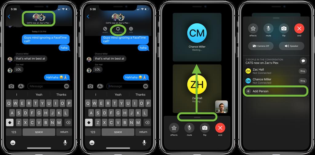 如何在 iPhone 或 iPad 上启用 FaceTime 群组通话?