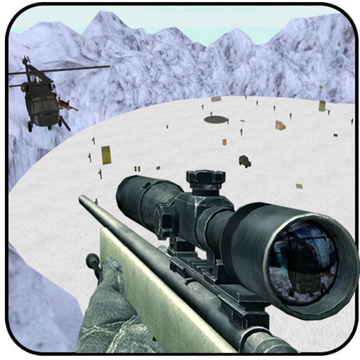 Snow Sniper Shooting