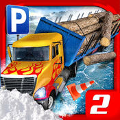 雪地卡车停车模拟器2