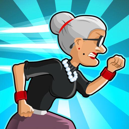 愤怒的老奶奶酷跑