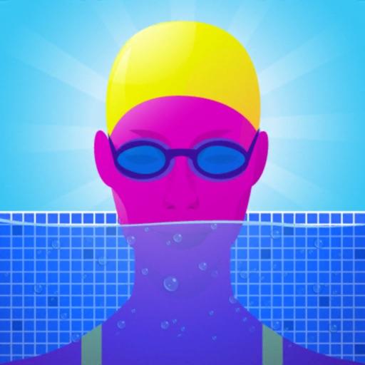 紫色跳水员