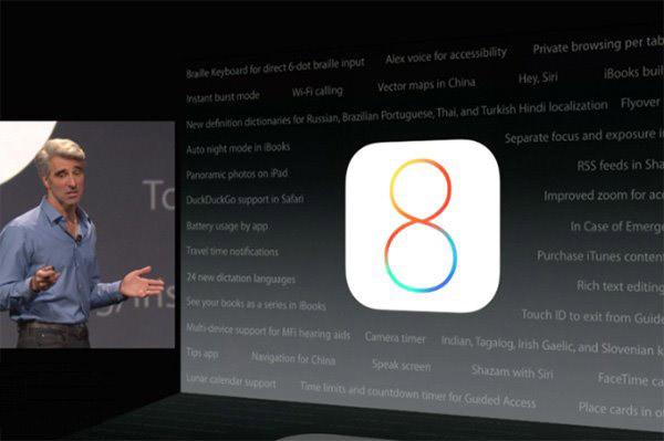 苹果iOS8泄密iPhone6新功能