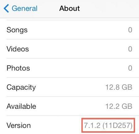iOS7.1.2更新时间确定,即将推送
