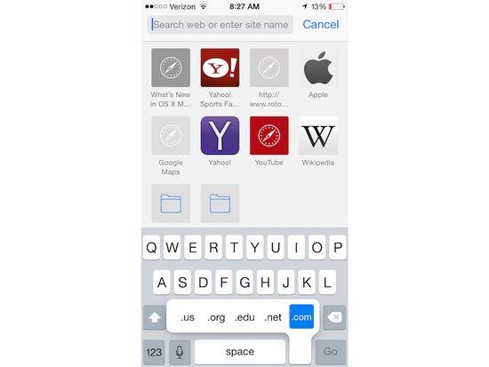 真假果粉测试:iOS系统快捷操作