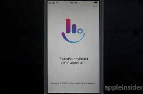 苹果iOS8测试版如何激活启动第三方输入法