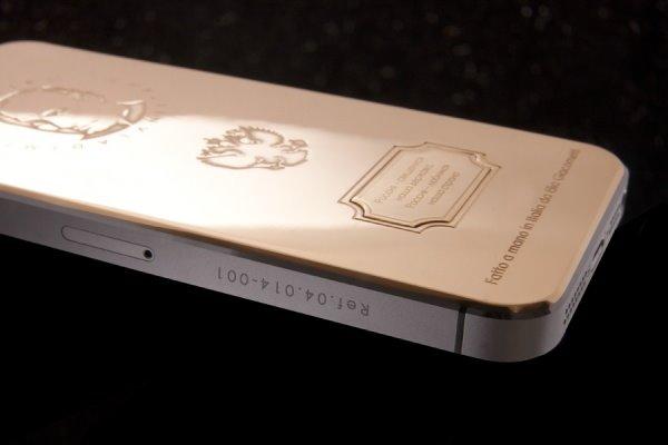 霸气奢侈品iPhone5s:土豪金+名人头像