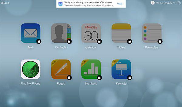 苹果iCloud官网终用上双重身份验证