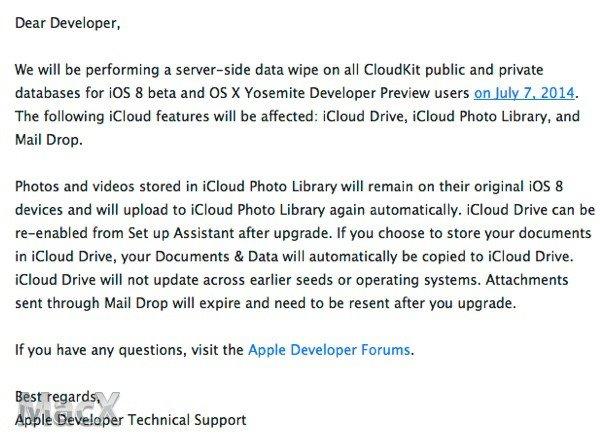 苹果iOS8 Beta3要来了