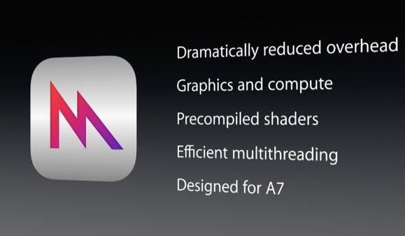 你还记得苹果WWDC2014上神奇的Metal吗?