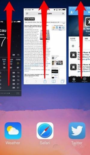 iPhone如何快速关闭后台程序?