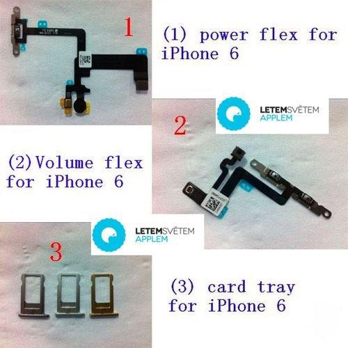iPhone6卡托曝光 : 至少三种配色