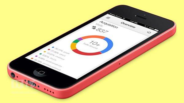 谷歌分析应用终于登陆iPhone