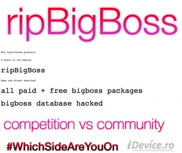 Cydia源BigBoss疑被黑,所有越狱插件均免费