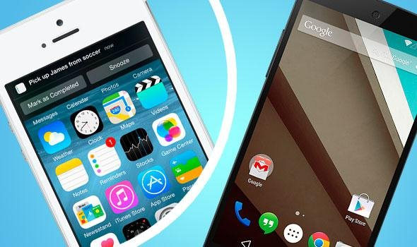 iOS8 vs Android L:谁更优秀?