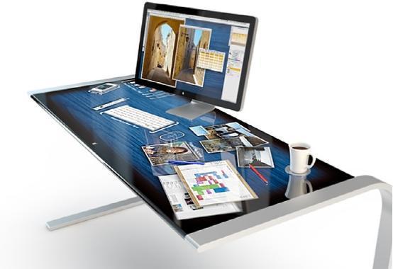 用着太爽了 iDesk整个桌面都是触控屏