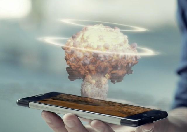 iPhone6再不发布就OUT了,全球首款全息手机即将上市