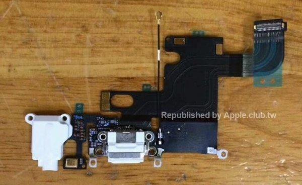 苹果iPhone6零部件再曝,后壳logo不发光