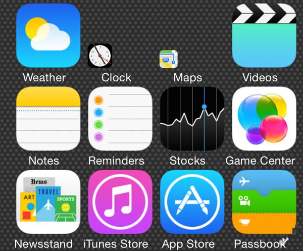 iOS7.1.2越狱插件推荐:改变桌面图标的大小Icon Resizer