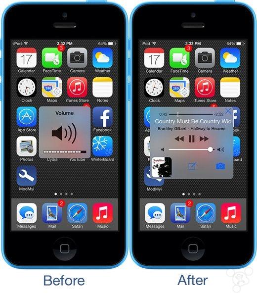 iOS7.1.2越狱插件推荐:Volume+重新定义音量调整功能