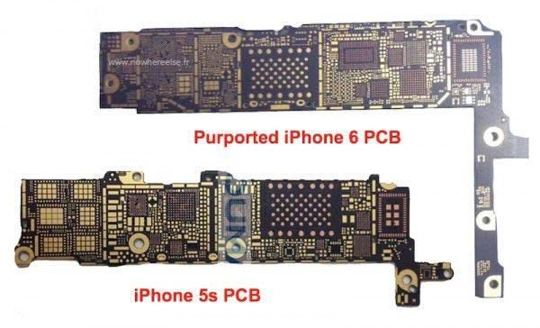 苹果iPhone6主板曝光,有新亮点