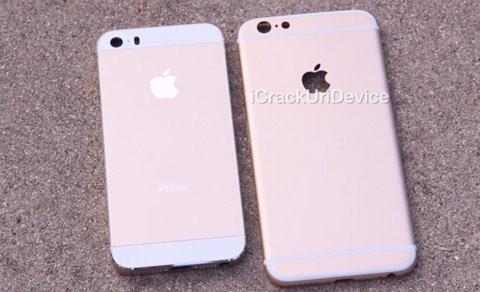 视频:苹果iPhone6/iPhone5s后壳对比
