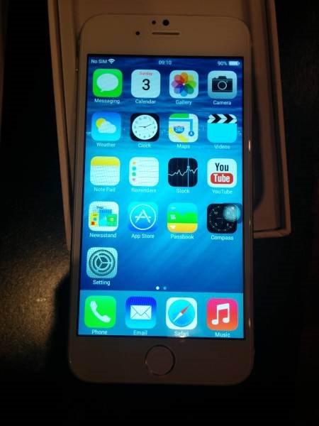 山寨iPhone 6再现国外网站: 几乎以假乱真