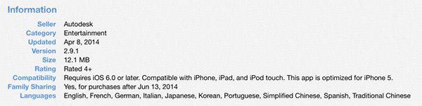 苹果iOS8的家人共享功能现身应用商店