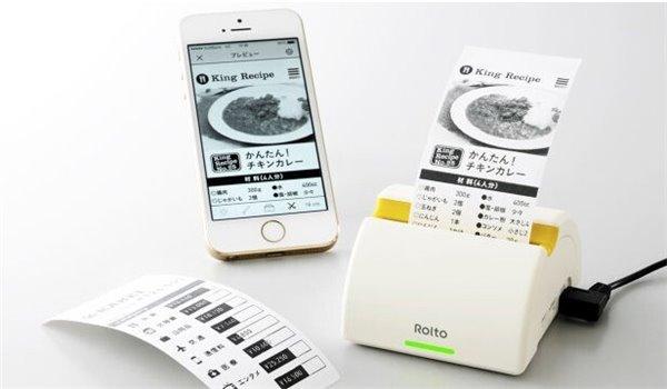 iPhone迷你打印机问世,网页屏幕随时打出来