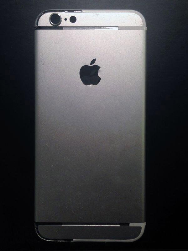 苹果iPhone6高清背部面板图片曝光