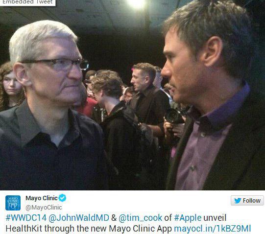 苹果iOS8为健康下大力气