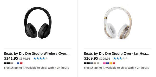 苹果所有Beats产品售价均下调,限时优惠
