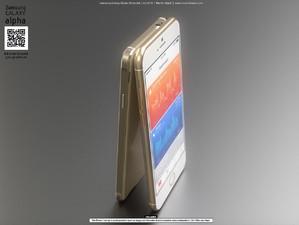 4.7英寸争锋:iPhone6比拼三星Galaxy Alpha