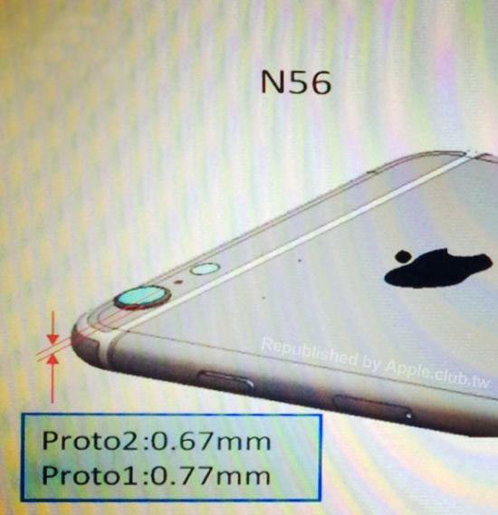 苹果iPhone6 CAD图曝光:摄像头凸出设计