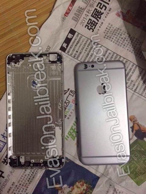 5.5英寸iPhone 6金属后盖首次曝光