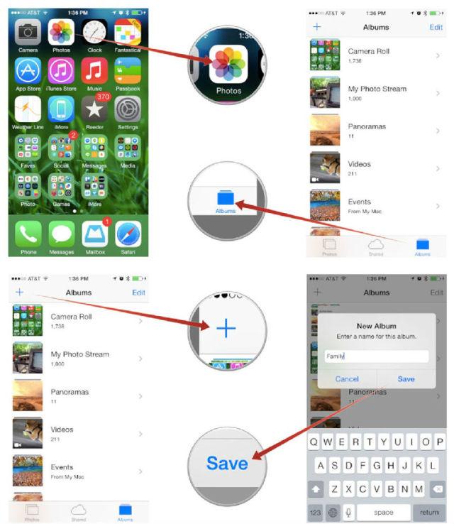 如何对iPhone照片进行分类
