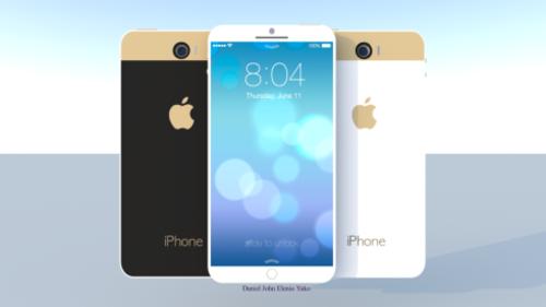 iPhone6同其它旗舰机型体型对比