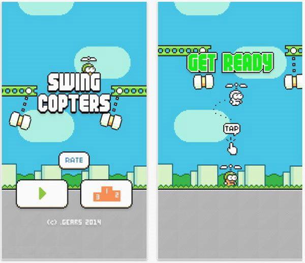 Flappy Bird姐妹版太难?新升级,更简单