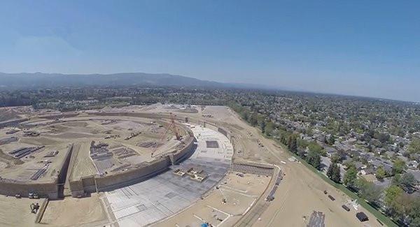 这便是花费50亿美元的苹果新园区