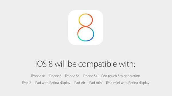 9月17日苹果将正式推送iOS8系统